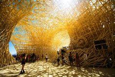 """this art installation piece titled, """"Uchronia"""" is absolutely stunning.  it is rated one of the 13 coolest art installations in the history of burning man and there is no doubt about that.  http://alittlewit.wordpress.com/2010/07/12/"""