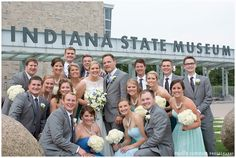 Kellie + Josh | Wedding Reception. Photos by Molly Connor Photography. #IndianaStateMuseum