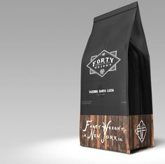 Beautiful #packaging, although I'm left guessing at the contents. #Coffee? It took a Google search to work out what the packaging contained...
