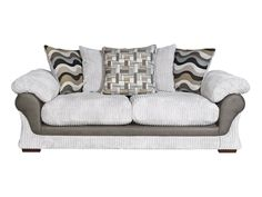 Lullabye 3 seater pillow back sofabed | Living room Furniture | Harveys