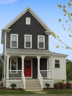 Selecting Exterior House Paint Color Combinations | DesignArtHouse.com - Home Art, Design, Ideas and Photos