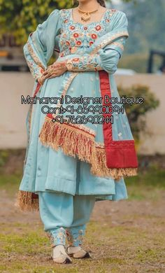 Wedding salwar kameez online shopping at the lowest price. India is offering latest collection of Salwar suits for wedding Punjabi Suits Designer Boutique, Boutique Suits, Indian Designer Suits, Designer Salwar Suits, Designer Sarees, Latest Salwar Suits, Patiala Salwar Suits, Salwar Suits Party Wear, Latest Kurti