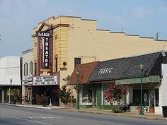 The old DeKalb Theater in Fort Payne, Alabama. I saw the Band Firewood play here. I miss those guys.