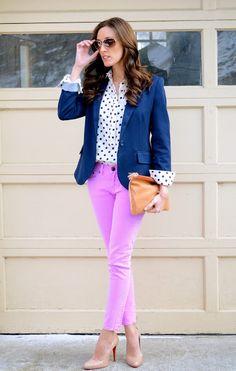 No sabes que ponerte en tu practica?Pantalones de colores! Solo es de saber combinarlos!