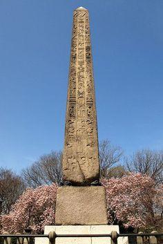 Cleopatra's Needle Obelisk, Central Park, New York City