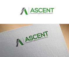 Logo Design by ergo™ for Canadian accounting firm (online firm without brick office). Cloud accounting specialists #accountancy #accountants #logo #design #DesignCrowd