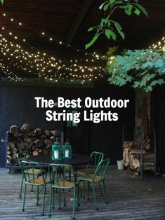The Best Outdoor String Lights To Light Up Backyard Patio Or Balcony