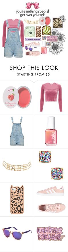 """""""I'm Overall this"""" by madelineharr ❤ liked on Polyvore featuring 100% Pure, Fleur du Mal, Forever New, Essie, Charlotte Russe, Fuji, Kate Spade, adidas Originals, Carrera and Local Heroes"""