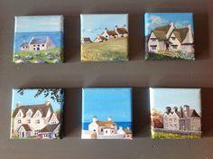 #Landsend & #Cotwolds, acrylic 10x10