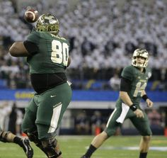 Baylor uses a 390-pound offensive lineman to score an 18-yard touchdown.