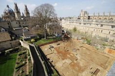 Excavations under the Provost's Garden at The Queen's College, Oxford