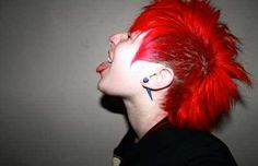 I am so gay for girl's with mohawks. GOD YES!!!