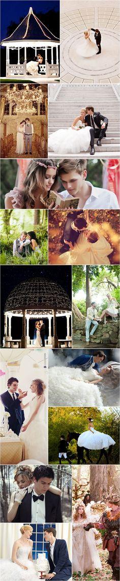 Praise Wedding » Wedding Inspiration and Planning » 34 Fairytale Wedding Scenes