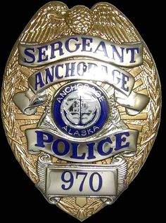 Anchorage Police Department, AK Police Badge