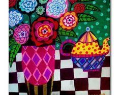 Popular items for teapot art on Etsy