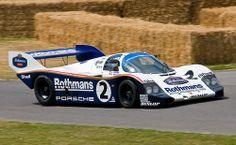 1983 Rothmans Porsche 956 Le Mans Race Car - Goodwood FoS 2009