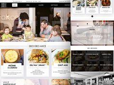 Restaurant site by Petr Milkov △