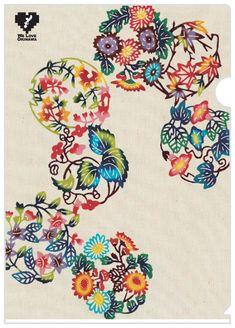 Okinawa Tattoo, Chinese Patterns, Japanese Patterns, Japanese Textiles, Japanese Prints, Japan Art, Circle Design, Fabric Painting, Printing On Fabric