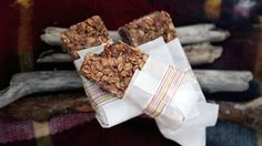 Nothing beats homemade granola bars and hot chocolate for those cool and cozy days on the beach.
