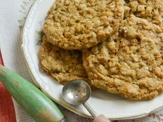 """Oatmeal Molasses Cookies - Damaris Phillips, """"Southern at Heart"""" on the Food Network."""