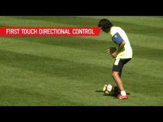 Tecnica ofensiva Mediocampistas y Delanteros Drill 12_ Ultimate Control.m4v - YouTube