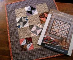 a little quilt by Kathleen Tracy