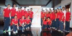 El equipo español al completo preparado para entrar en acción en #Murcia2015. www.rfea.es