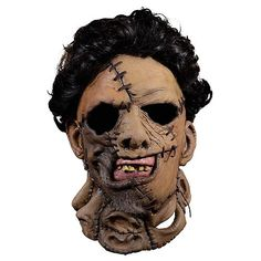 online shopping for The Texas Chainsaw Massacre Adult Leatherface 1986 Mask from top store. See new offer for The Texas Chainsaw Massacre Adult Leatherface 1986 Mask Halloween Costume Shop, Halloween Masks, Halloween Costumes For Kids, Horror Movie Costumes, Michael Myers Mask, Trick Or Treat Studios, Texas Chainsaw Massacre, Animal Masks, Masks For Sale