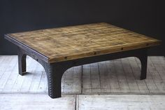 Reclaimed, upcycled, vintage and industrial furniture.