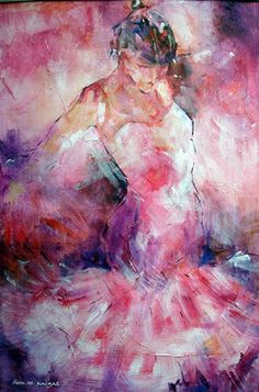 Absorbed In Dance - Fine Art Print - Ballet & Dance Collection of Paintings