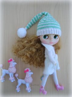Hey, I found this really awesome Etsy listing at https://www.etsy.com/listing/219935031/blythe-hat-knitted-hat-for-blythe-doll