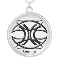Gemini Zodiac Symbols Tattoos | with the gemini astrology sign will love this tribal zodiac gemini ...
