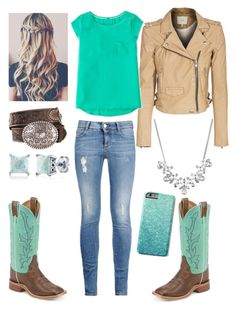 """Turquoise cowgirl"" by amber-gabelt on Polyvore featuring IRO, Boden, STELLA McCARTNEY, BERRICLE and Givenchy"