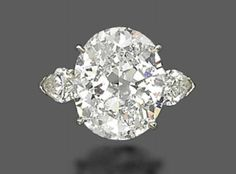thejewelryvault:        Creator: Harry Winston.       Stone(s): Diamond.        Metal: Platinum.        Source: Christie's.        Note: Goes up for auction today. (posted 16 May 2013, via romantical-reverie.tumblr.com).