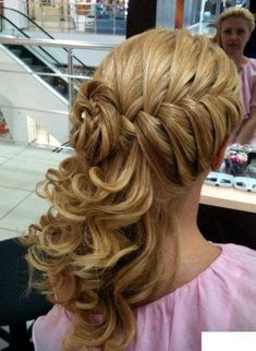 hair style for girls for wedding - Google Search