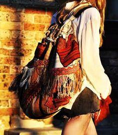 Gypsy / bohemian style bag