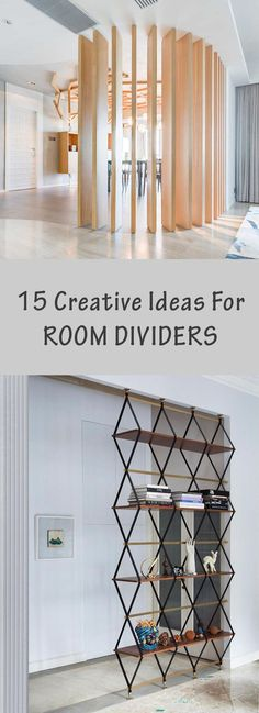 15 Creative Ideas For Room Dividers                                                                                                                                                     More