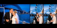 Night photos of the bride and groom on the balcony of their Luna Park wedding recption venue Night Wedding Photos, Night Photos, Wedding Photoshoot, Wedding Shoot, Bridal Car, Father Daughter Dance, Wedding Reception Venues, Sydney Wedding, Great Photographers