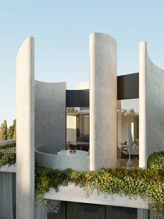 Futuristic Architecture, Facade Architecture, Residential Architecture, Contemporary Architecture, Amazing Architecture, Contemporary Design, Organic Architecture, Architecture Definition, Architecture Portfolio