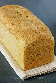 Rice Bread - Bread made with leftover rice!