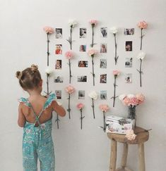 30 Fantastic Ways To Display Your Photos In Your House - Feminine Buzz - 30 Fantastic Ways To Display Your Photos In Your House – Feminine Buzz 30 Fantastic Ways To Display Your Photos In Your House – Feminine Buzz Cute Room Ideas, Cute Room Decor, Room Decor Bedroom, Dorm Room, Bedroom Ideas, Diy Wall Decor, College Room, Room Goals, Aesthetic Room Decor