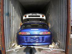 Double RHD Toyota Supra MK4 in Transit to Canada.. (www.jdm-Ottawa.com)