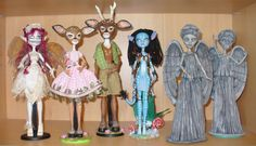 Monster High repaint OOAK customs by redmermaidwerewolf