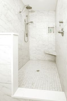 Fantastic walk-in shower in this bathroom remodel by Greater Dayton Building & Remodeling. #housetrends http://www.housetrends.com/specialist/Greater-Dayton-Building-Remodeling