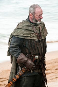 """Liam Cunningham as Davos Seaworth, """"Game of Thrones"""" Season 2 Davos, Winter Is Here, Winter Is Coming, Larp, Carl The Walking Dead, Got Costumes, Movie Costumes, Theatre Costumes, Character Costumes"""