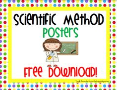 Here's a nice set of posters on the scientific method.