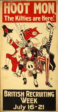 British Recruiting Poster - 1917