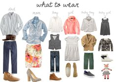 what to wear for a photoshoot