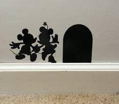 Mickey & Minnie wall art