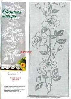 Gallery.ru / Фото #143 - Filet Crochet pour Point de Croix 2 - Mongia